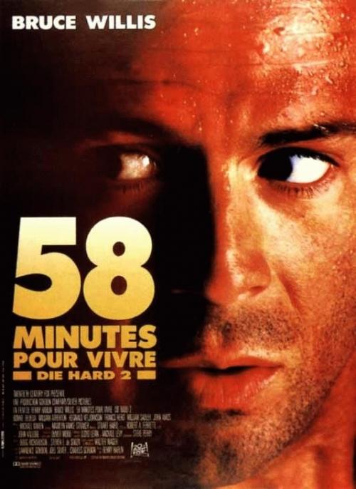 Die Hard 2 - 58 minutes pour vivre affiche